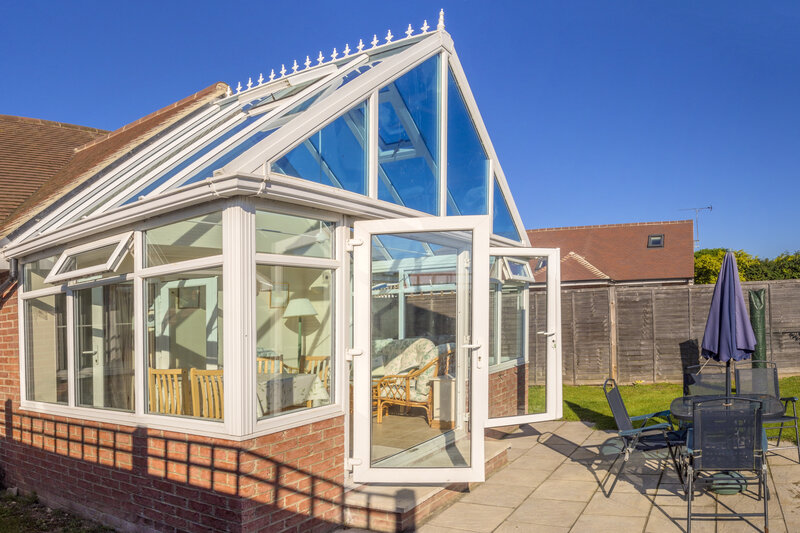 Glass Conservatory in Worcester Worcestershire